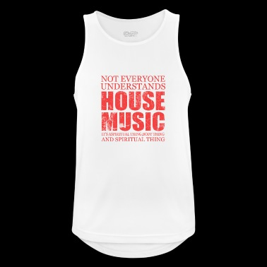 House music - Men's Breathable Tank Top
