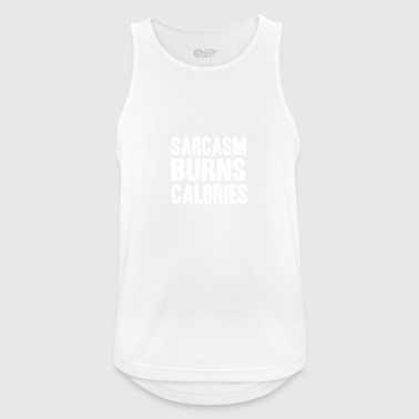 sarcasm - Men's Breathable Tank Top