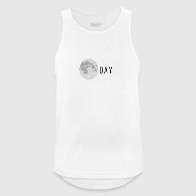 Moonday - Camiseta sin mangas hombre transpirable