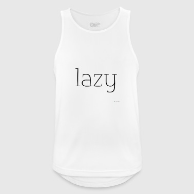 Lazy - Men's Breathable Tank Top