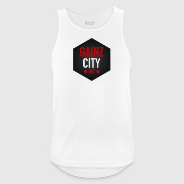 GAINZ CITY - MC - Mannen tanktop ademend