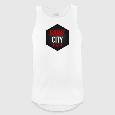 GAINZ CITY - MC - Men's Breathable Tank Top