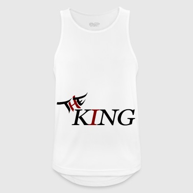 The King - Men's Breathable Tank Top