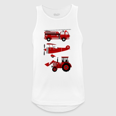 vehicles - Men's Breathable Tank Top