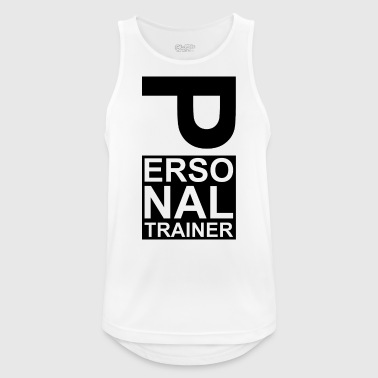 Personal trainer coach - Men's Breathable Tank Top