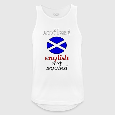 scotland english not re - Miesten tekninen tankkitoppi
