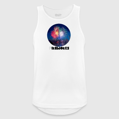 Fireworks - Men's Breathable Tank Top