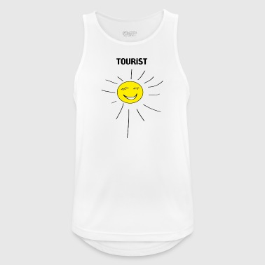 tourist - Men's Breathable Tank Top