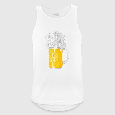 Ice Cold Bers - Men's Breathable Tank Top