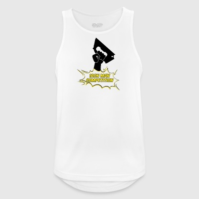 Iron Man Competition - Iron Man Competition - Men's Breathable Tank Top