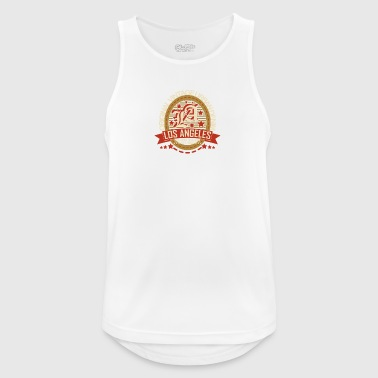 Los Angeles - Männer Tank Top atmungsaktiv
