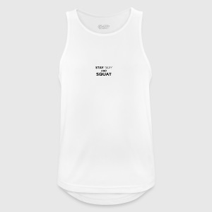 Stay Sexy and Squat - Men's Breathable Tank Top