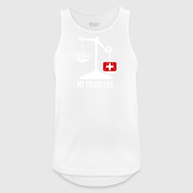 Swiss National Day - Men's Breathable Tank Top