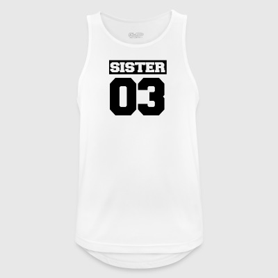 Sister shirt for siblings - Men's Breathable Tank Top