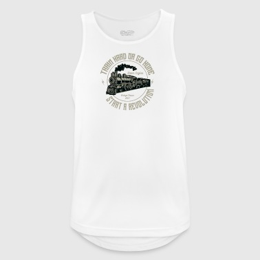 Train - Men's Breathable Tank Top