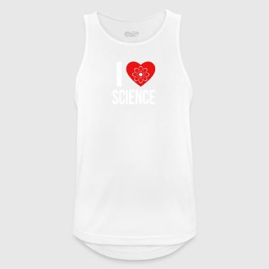 I LOVE SCIENCE * IDEAL GIFT * - Men's Breathable Tank Top