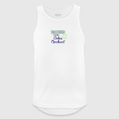 Online Merchant - Men's Breathable Tank Top