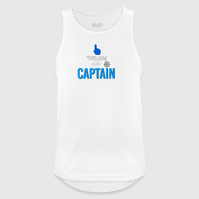 This guy is the captain - Men's Breathable Tank Top