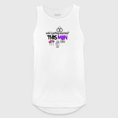 This man is getting married - Men's Breathable Tank Top