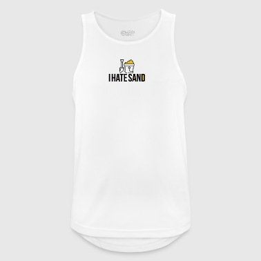 I hate sand - Men's Breathable Tank Top