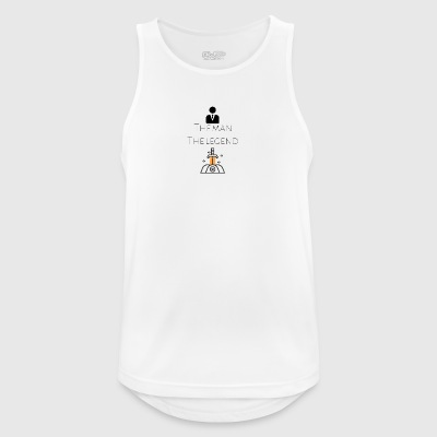 The man The legend - Men's Breathable Tank Top