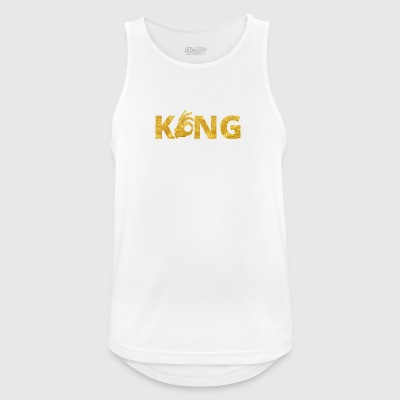 Kongen Perfect Gold - Pustende singlet for menn