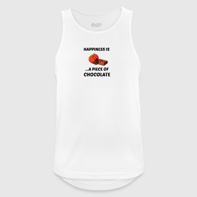 Chocolate - Men's Breathable Tank Top