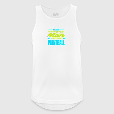 Old Man / PAINTBALL - Men's Breathable Tank Top