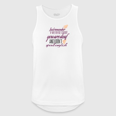 If we ever get caught - Men's Breathable Tank Top