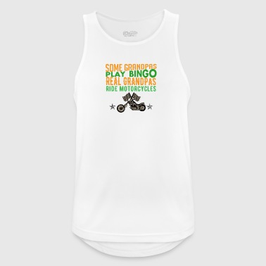 Gift for opas with motorcycles - Men's Breathable Tank Top