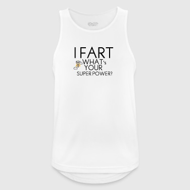 Farting superpower - Men's Breathable Tank Top