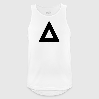 Triangle - Camiseta sin mangas hombre transpirable