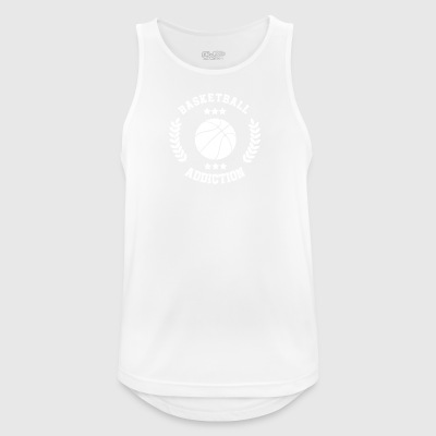 Basketball Addiction - afhængighed Boldsport - Herre tanktop åndbar