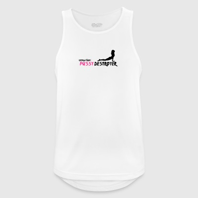 Pussy destroyer - Men's Breathable Tank Top