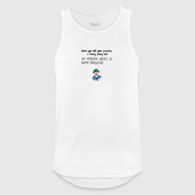 Funny story for my parents - Men's Breathable Tank Top