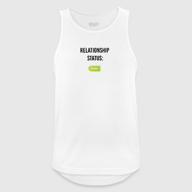 I am available - Men's Breathable Tank Top
