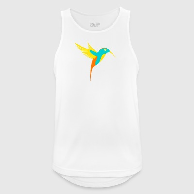 Hummingbird Colorful - Men's Breathable Tank Top