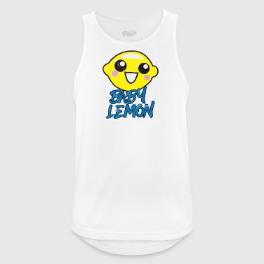 Fruit / Fruit: Baby Lemon - sweet lemon - Men's Breathable Tank Top