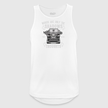 Shadows Of Thoughts2 - Pustende singlet for menn