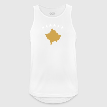 Kosovo Flag - Men's Breathable Tank Top
