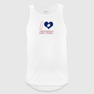 I love New York - Men's Breathable Tank Top