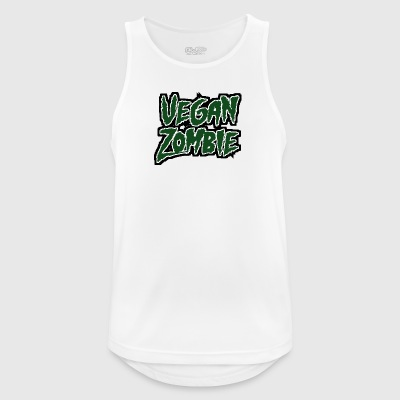 Zombie: Vegan Zombie - Men's Breathable Tank Top
