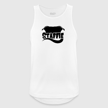 Silhouette Staffie - Men's Breathable Tank Top