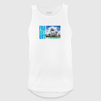 Frankfurt, skyline - Men's Breathable Tank Top