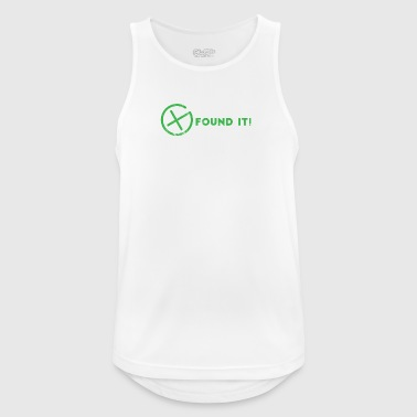 Geocaching, geocache, GPS, hiking, nerd - Men's Breathable Tank Top
