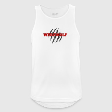 Werewolf / Halloween: Werewolf - Men's Breathable Tank Top