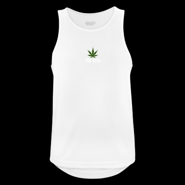too high design - Men's Breathable Tank Top