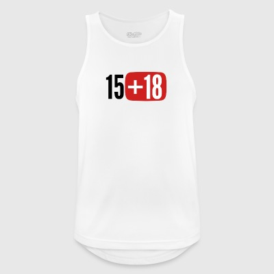1518 - Men's Breathable Tank Top