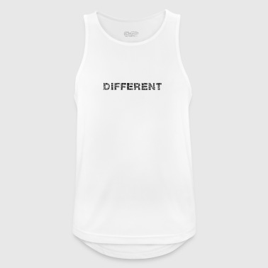 Different lettering - Men's Breathable Tank Top