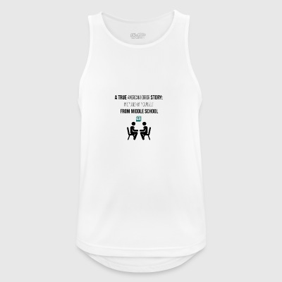 A true American horror story - Men's Breathable Tank Top